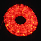 10M LED Christmas Red Rope Lights