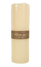 Pillar Round Candles Ivory Unscented 3&quot;x 9&quot;