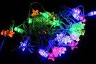 40 Pcs 5.85M LED Multi Colours Christmas Stars Fairy Lights &amp; Functions