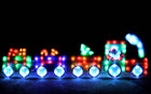 Animated EVA LED Christmas Train Motif Lights