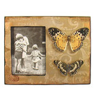 French Shabby Chic Wood Butterfly Photo Frame
