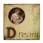 Country Shabby Chic Pale Yellow &quot;Dream&quot; Photo Frame