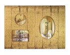 Country Shabby Chic Wood Hanging Multi Photo Frame