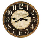 French Country &quot;Hotel Vieux&quot; Wall Clock 48cm