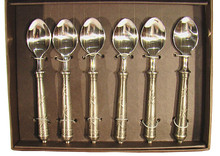 Set 6 Dragonfly Teaspoons Gift Boxed