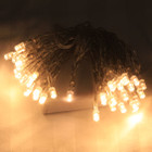 4M 30 LED Warm Glow Christmas Battery Fairy Lights Flash &amp; Static