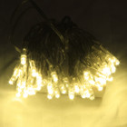 6M 60 LED Warm White Battery Fairy Lights