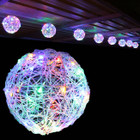 7.2M 20CM 8 Balls LED Multi Colour Christmas Lights with 8 Functions