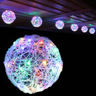 5.2M 20CM 6 Balls LED Multi Colour Christmas Lights with 8 Functions