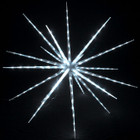 102CM 160 White LED Hanging Blast Ice Star Ball Christmas Light Decoration