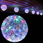5.3M 30CM 6 Balls LED Multi Colour Christmas Lights with 8 Functions