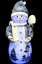 99CM Snowman Snowing Ornament with Christmas Songs