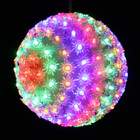 18CM 150 LED Multi Colours Ball Light with Floral Design 8 Functions