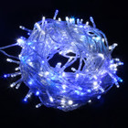 500 LED Blue and White Christmas Fairy Lights
