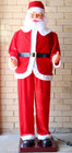 1.8M Large Santa Claus Singing and Dancing with Sensor for Christmas Decoration