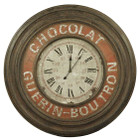 90CM French Country Large Chocolat Guerin Boutron Clock