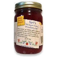 Kurt's No Sugar Added Stawberry Jam