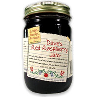 Dave's Red Raspberry Jam