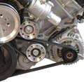 Ford 5.0L 4V Billet Idler Pulley Kit - Natural Finish