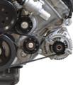 Ford 5.0L 4V Billet Idler Pulley Kit - Black Anodize Finish
