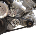 Ford 5.0L 4V Billet Idler Pulley Kit - Chrome Finish