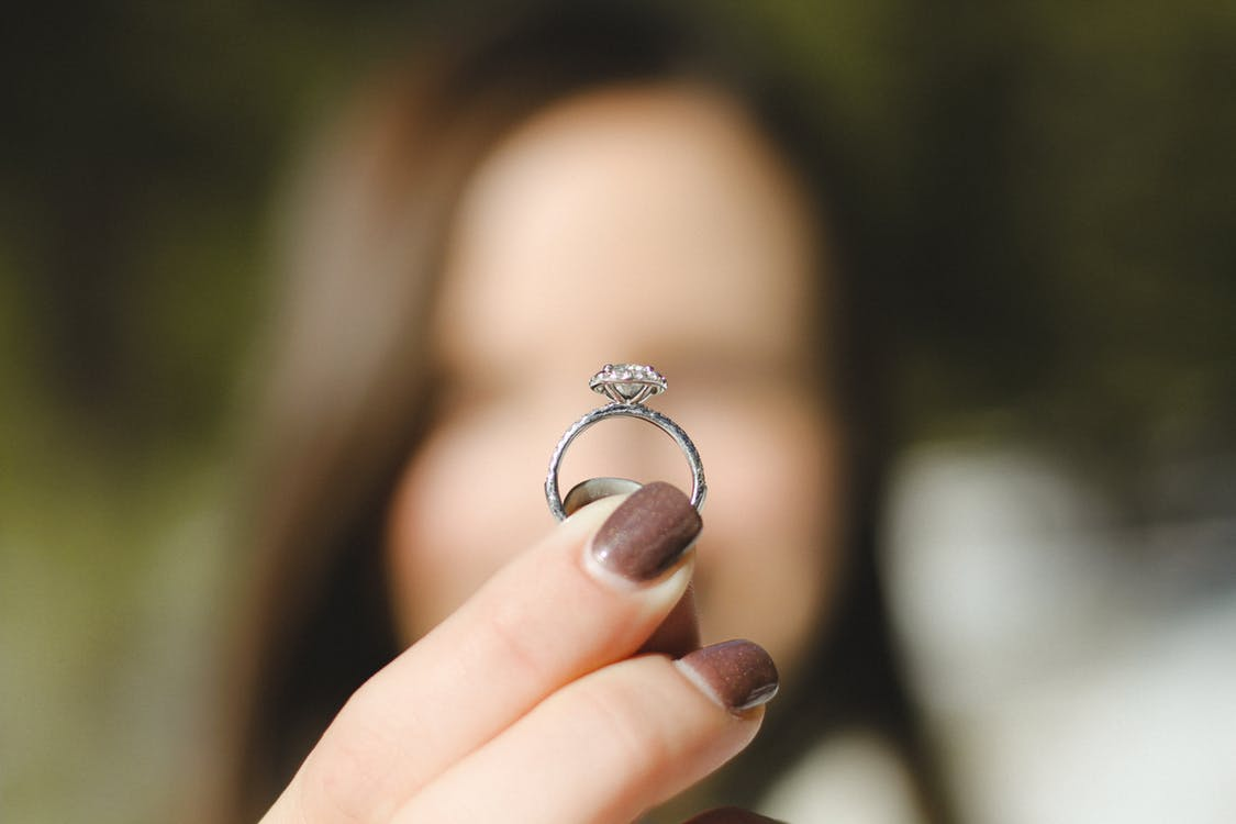 Dont Wear Your Engagement Ring to These 8 Places MyWedStylecom