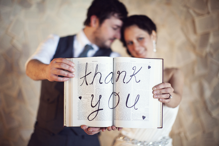 6 Ways to Get Creative with Wedding Thank You Notes - MyWedStyle.com