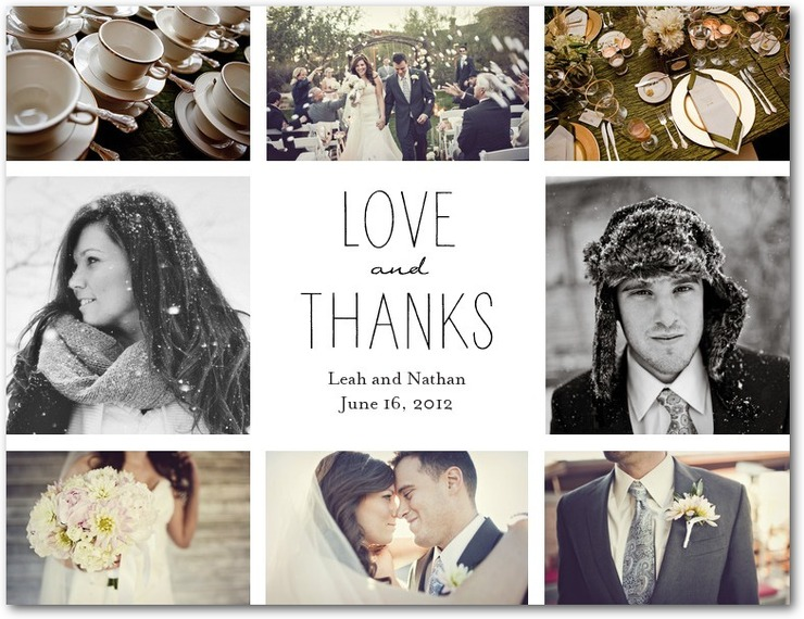 Ways To Get Creative With Wedding Thank You Notes  MywedstyleCom
