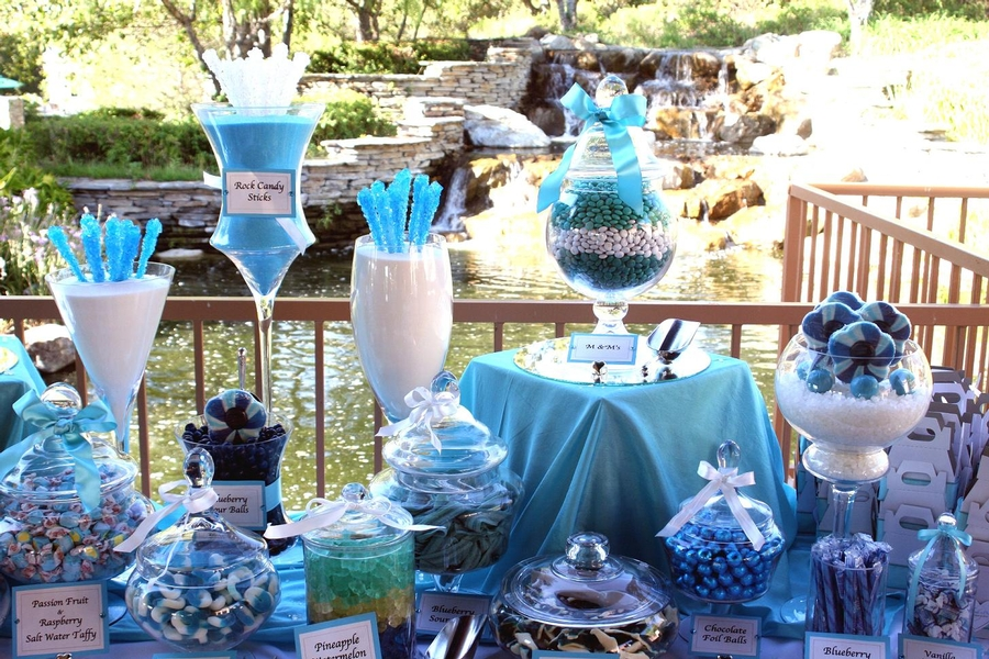 Wedding candy buffet tables are a sweet option! (pun intended ...