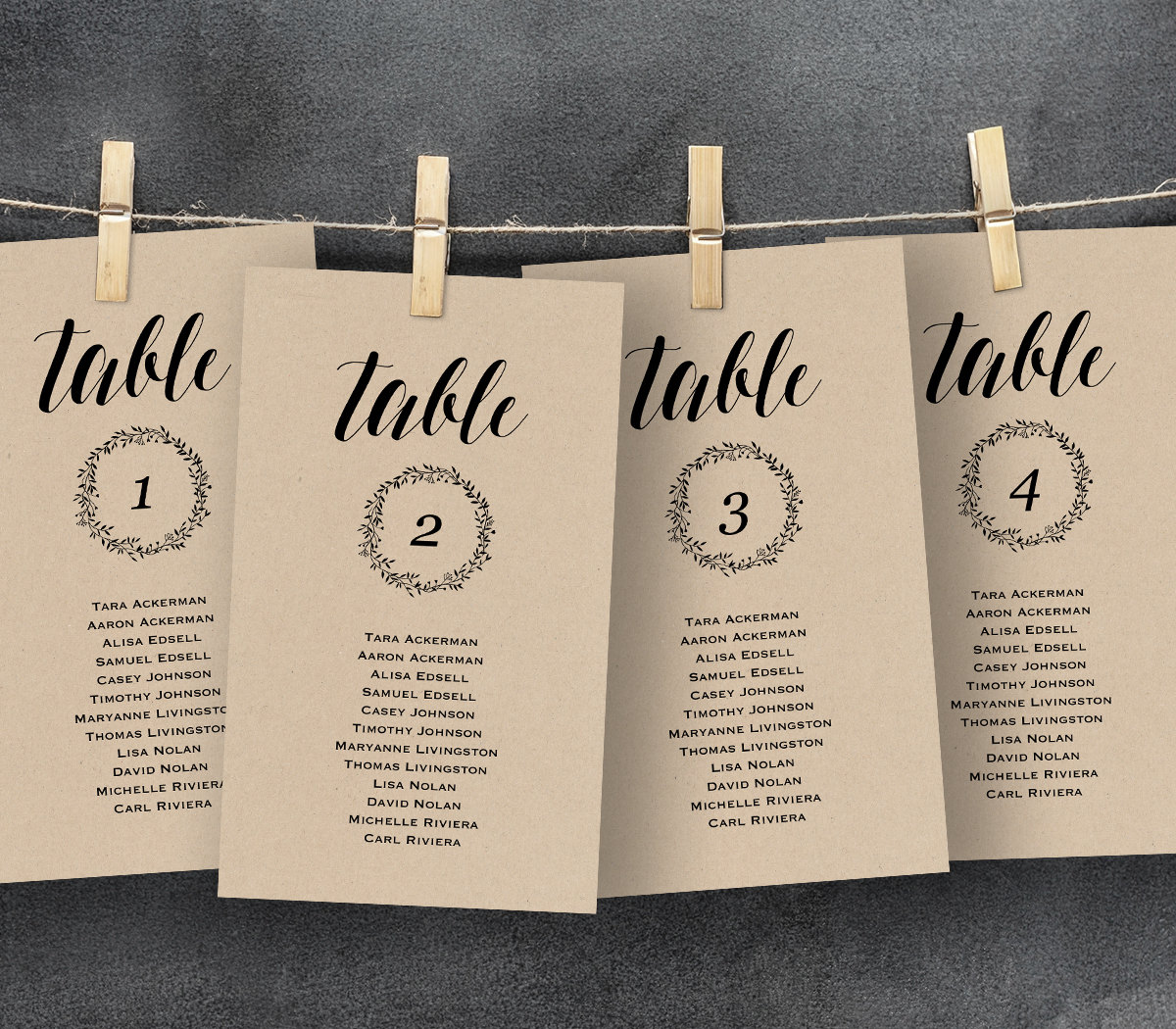 Layout Of A Formal Letter Example%0A table seating chart wedding