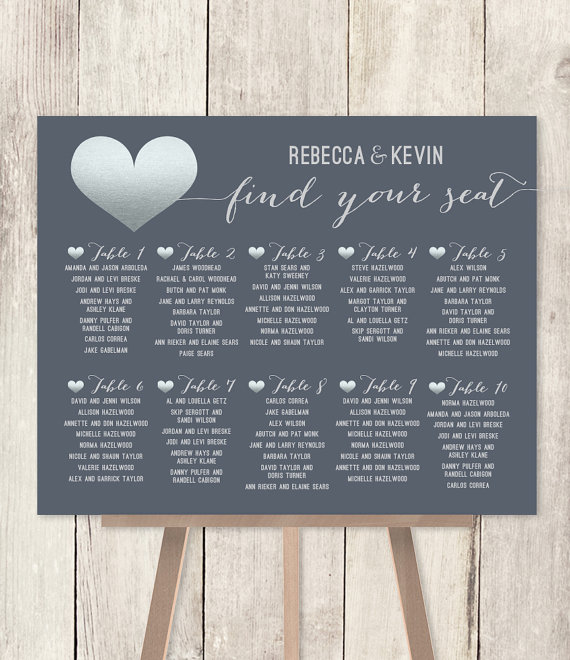 Wedding Seating Chart Issues And How To Solve Them