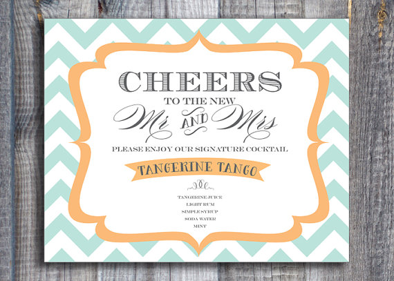 Personalize Your Wedding Menu With A Signature Cocktail