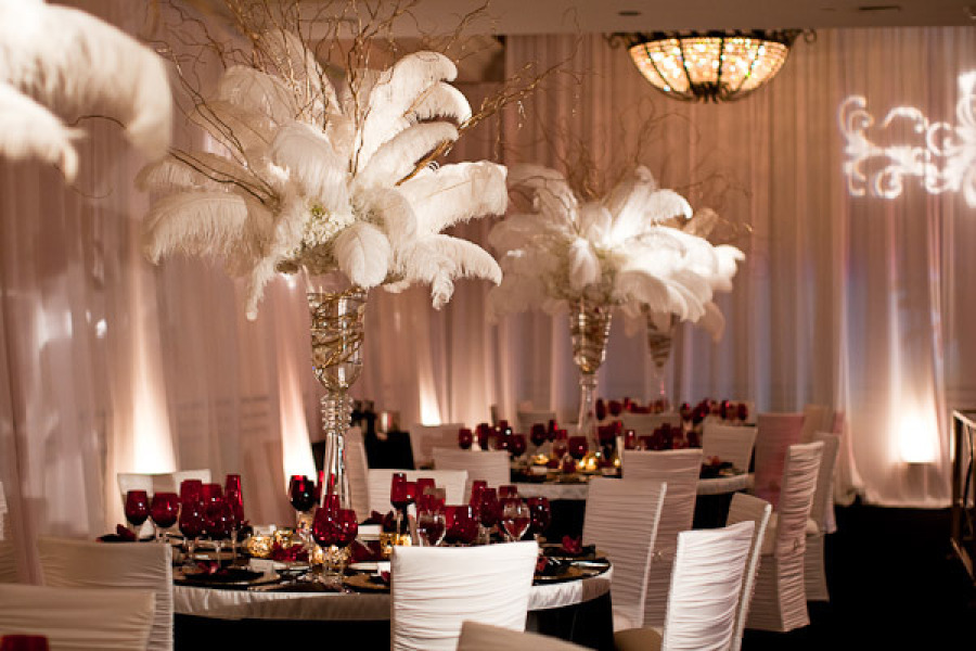 Decorations Old Hollywood Theme Party Ideas Whitehot Winter Wedding