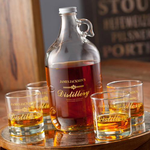 Gold - Distillery Growler Set