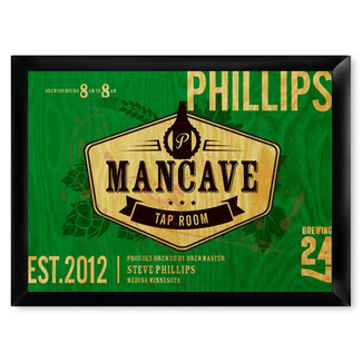 Tap Room Mancave Pub Sign