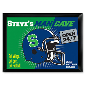 Open 24-7 Man Cave Pub Sign