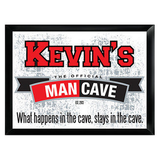 Official Man Cave Pub Sign