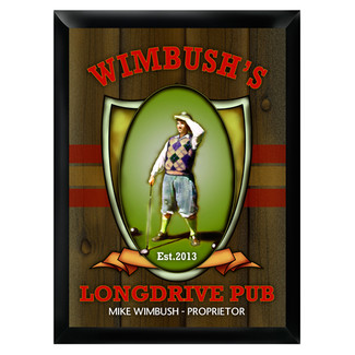 Personalized Longdrive Pub Sign
