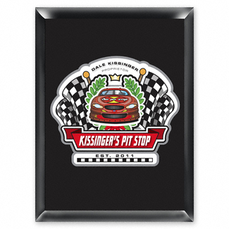 Personalized Racing Pit-Stop Pub Sign