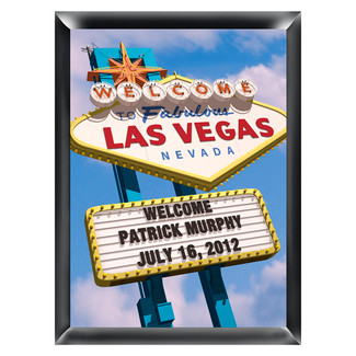 Personalized Vegas Traditional Sign