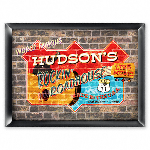 Personalized Roadhouse Pub Sign