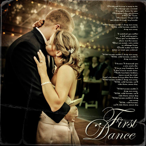 First Dance/Anniversary Wedding Photo Art