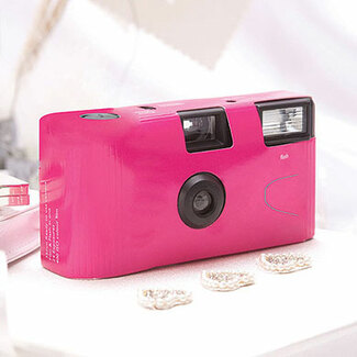 Fuchsia Disposable Camera