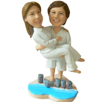 Same Sex Couple Wedding Cake Topper