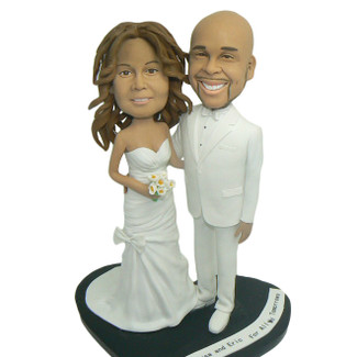 Anniversary Couple Cake Topper