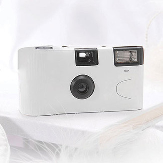 White Single Use Camera