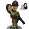 Fireman Couple Wedding Cake Topper