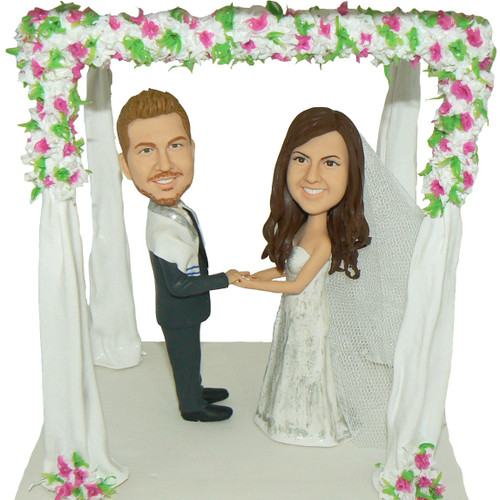Personalized Wedding Arbor Cake Topper