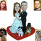 Fully Customized Cake Topper