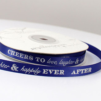 Personalized Wedding Ribbon!